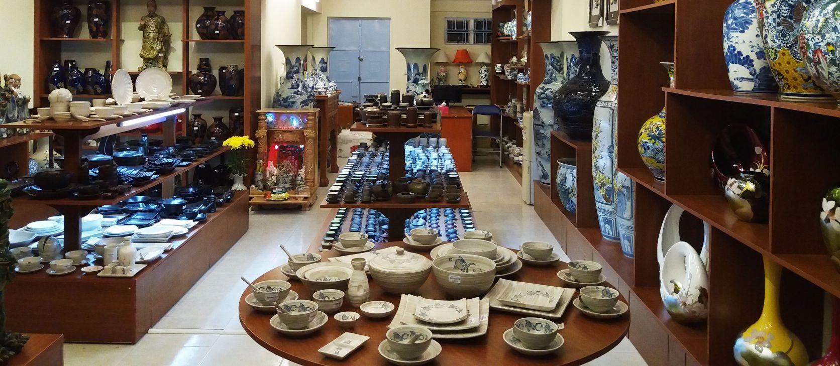 Cửa hàng bát đĩa đẹp quận Tân Phú