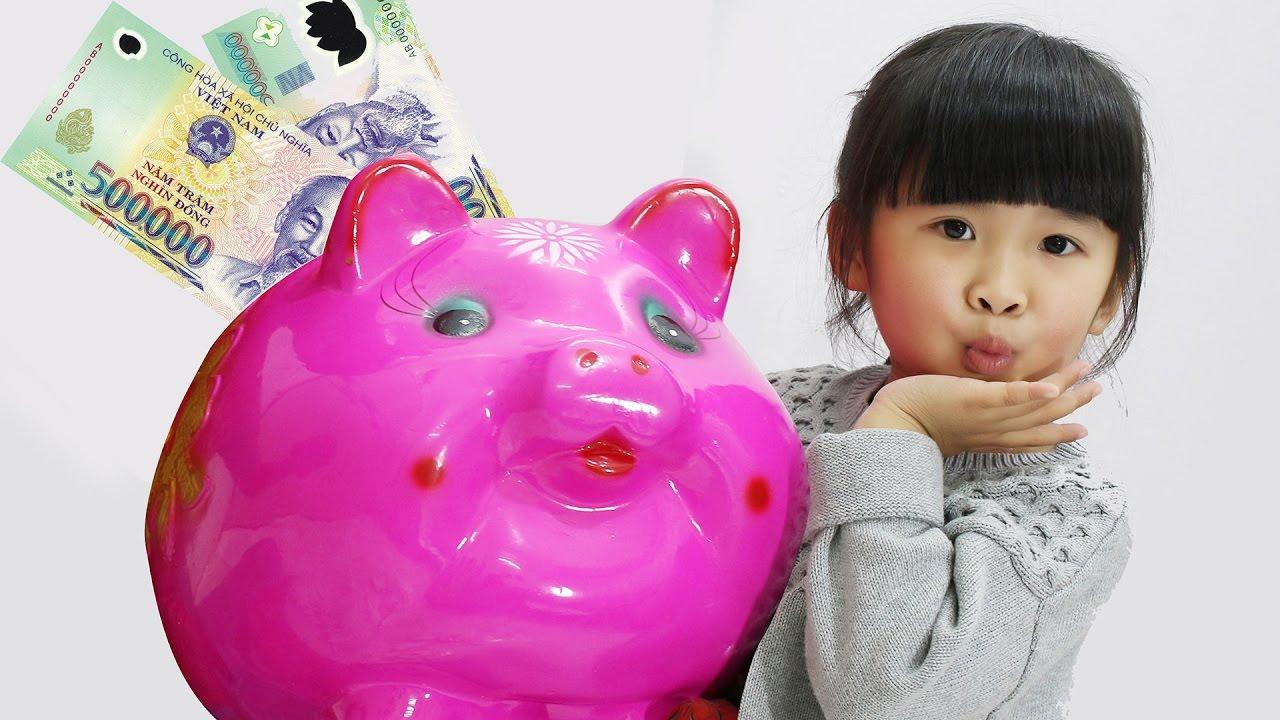 heo đất tiết kiệm dành cho trẻ