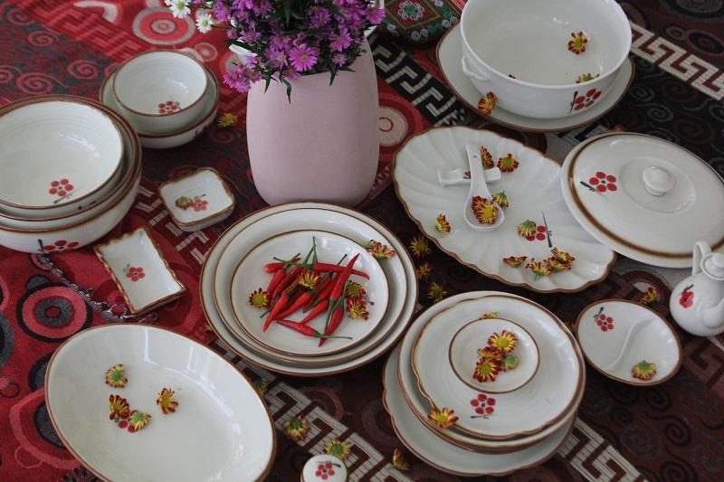 Bộ bát đĩa đẹp tại quận Tân Bình