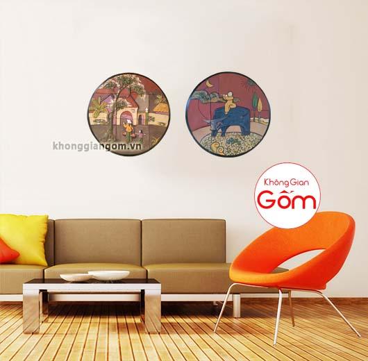 tranh trang trí phòng khách giá rẻ