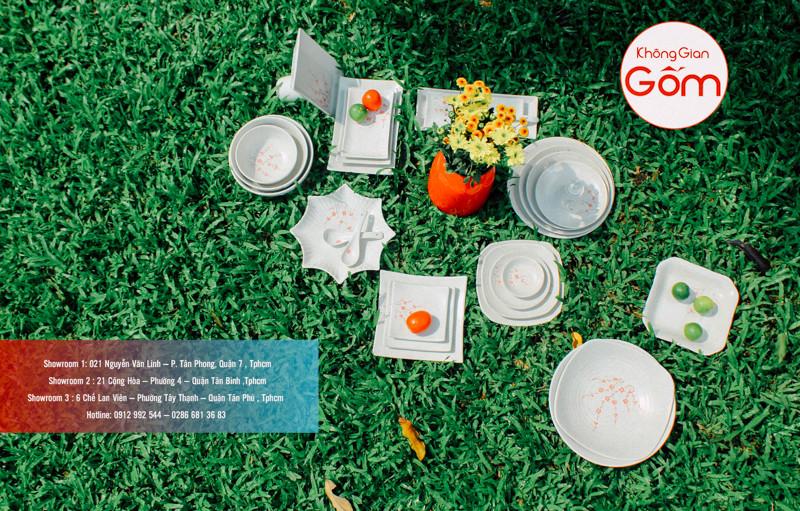 Địa chỉ cửa hàng không Gian Gốm chuyên cung cấp bát đĩa Bát Tràng
