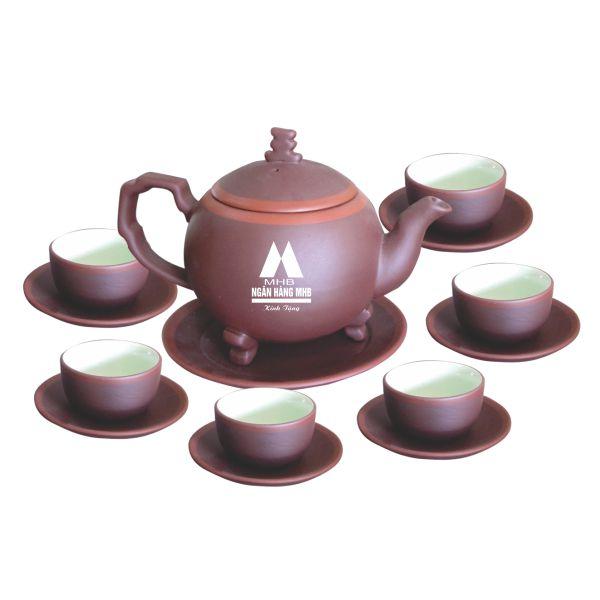 ấm trà in logo