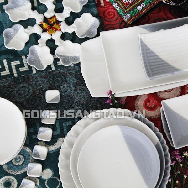 Bát đĩa đẹp giá rẻ tại Bình Dương