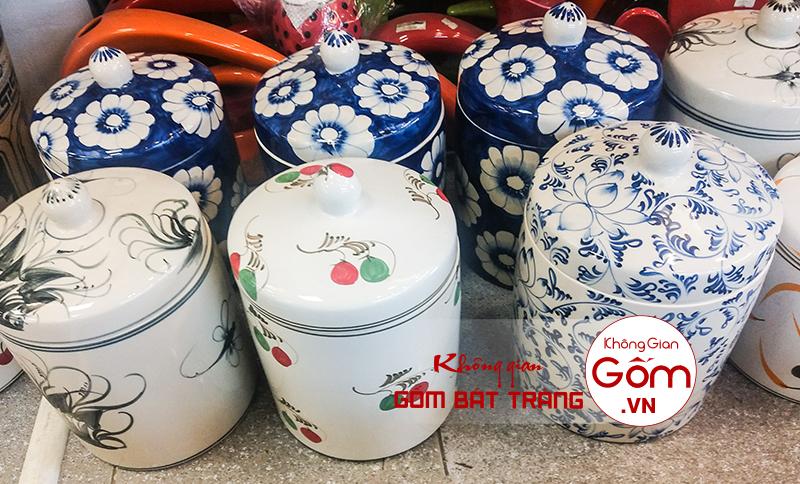 Cửa hàng chuyên cung cấp hũ đựng dưa cà muối gốm bát tràng chất lượng