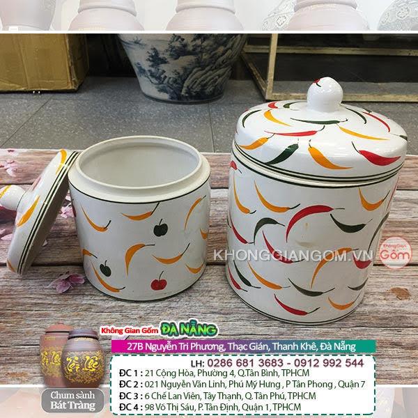 Hũ sữ muối dưa cà tại Đà Nẵng mang hương vị quê hương vào không gian bếp nhà bạn