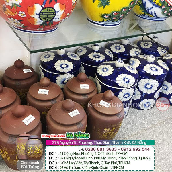 Hũ sứ muối dưa tại Đà Nẵng - Dịa chỉ uy tín đáng tin cậy cho khách hàng chọn mua hũ sứ muối dưa