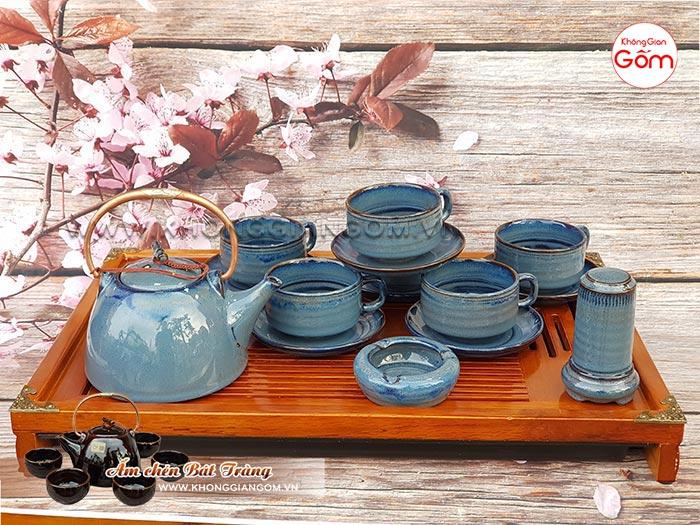 Mua ấm trà ấm chén gốm sứ đẹp ở đâu Đà Nẵng │Không Gian Gốm