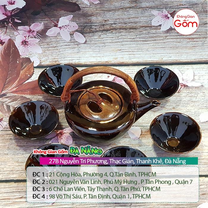 Các mẫu ấm chén Bát Tràng - Ấm trà tử sa đẹp tại Đà Nẵng