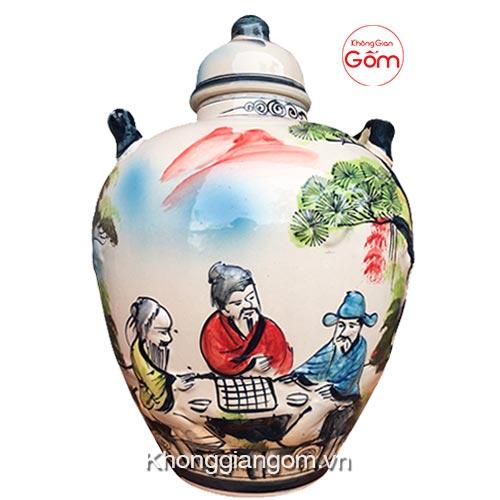 Chum sành ngâm rượu Bát Tràng 15 lít - CHÍNH GỐC tại TpHCM