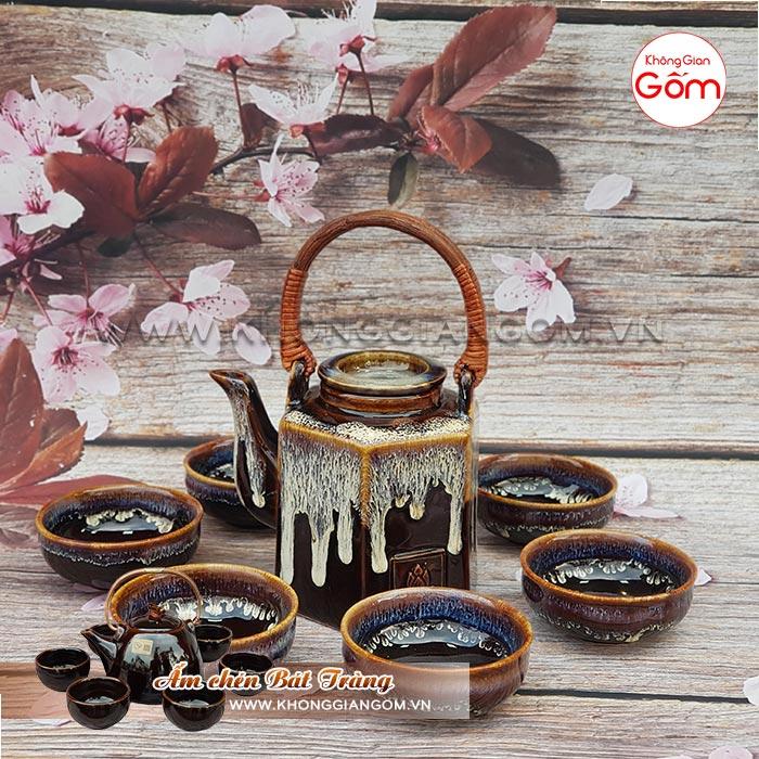 Địa chỉ mua ấm chén Bát Tràng Đà Nẵng - Ấm trà đẹp cao cấp