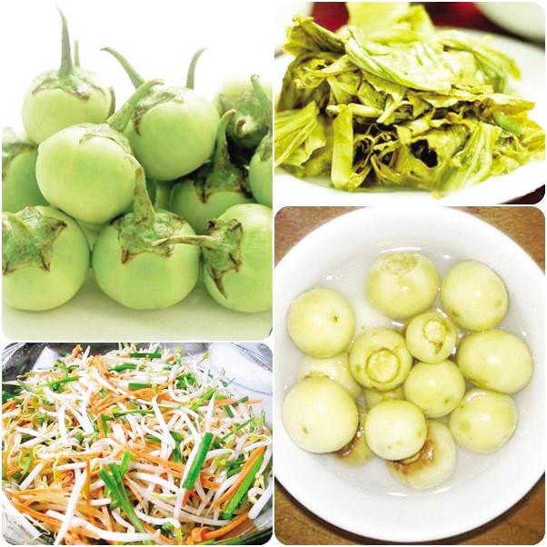 Món dưa cà muối ngon và đẹp mắt nhờ hũ sứ muối dưa cà ở Đà Nẵng