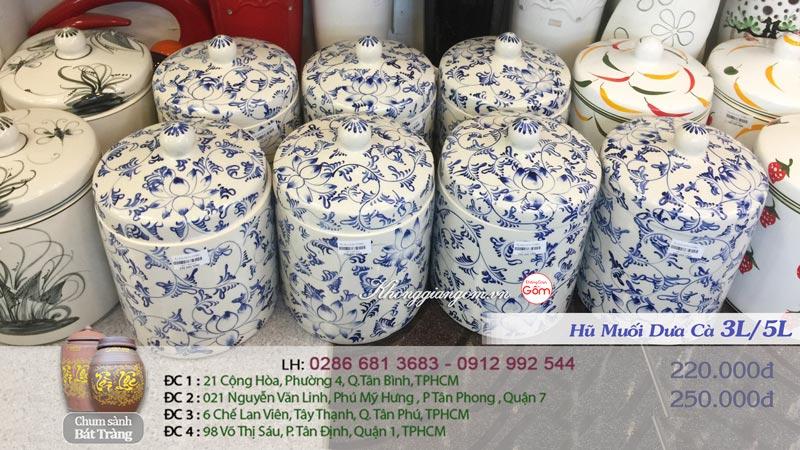 Cửa hàng cung cấp hũ đựng muối dưa cà giá rẻ - ĐẢM BẢO