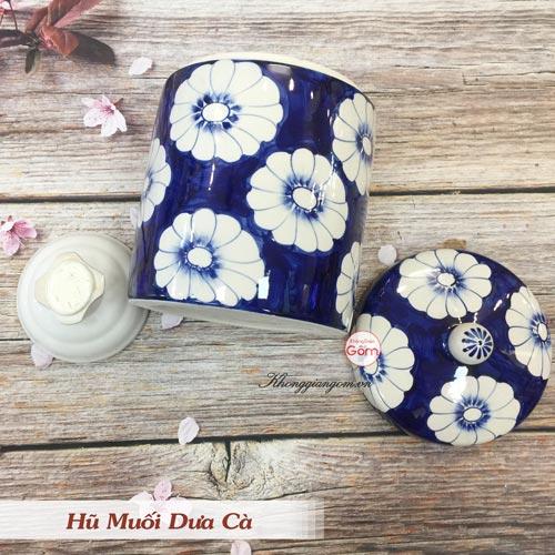 Hũ đựng muối dưa cà Bát Tràng - Họa tiết đẹp, chất lượng