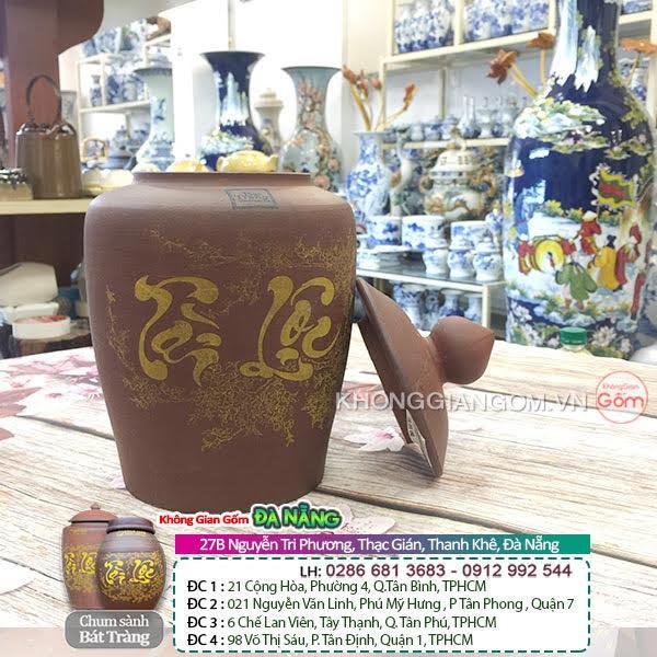 Hũ gạo sành sứ tại Đà Nẵng - Nhận biết về hũ gạo sành sứ chính gốc tại Đà Nẵng