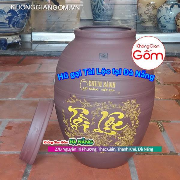 Hũ gạo Tài Lộc gốm sứ Tại Đà Nẵng