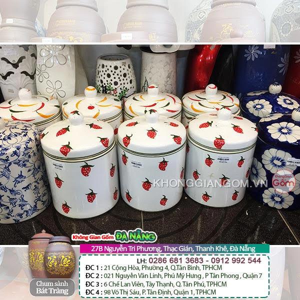 Lý do nên chọn mua hũ sứ muối dưa bằng gốm sứ tại Đà Nẵng