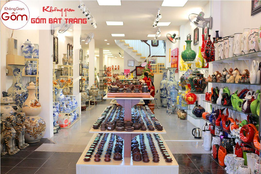 Cửa hàng gốm sứ Quận 1