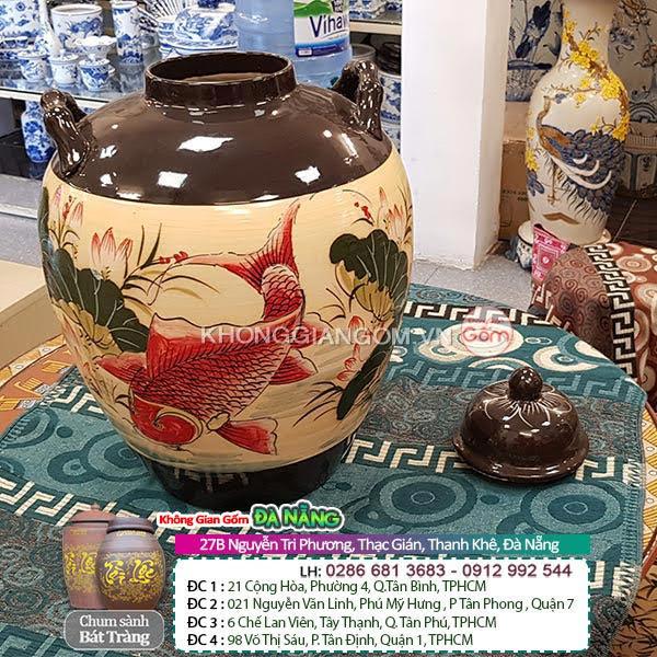 Địa chỉ bán thùng đựng gạo gốm sứ Tại Đà Nẵng