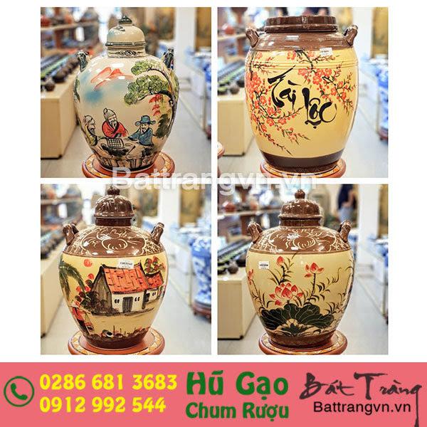Bình ngâm rượu bát tràng tại Lâm Đồng 2