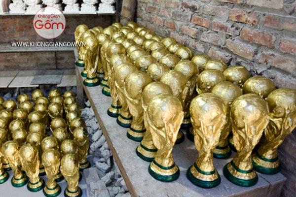 Mua cup vàng thạch cao giá rẻ tại cửa hàng Không Gian Gốm