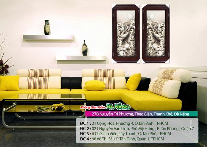 Tranh trang trí treo tường gốm sứ - Quà tặng tuyệt vời cho gia đình bạn bè người thân