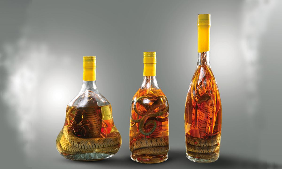 Tác hại của rượu rắn
