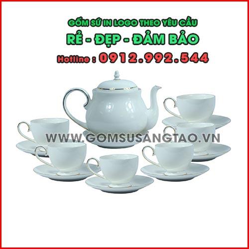Bình trà in logo theo yêu cầu quận 10 tphcm - Cty SX quà tặng giá xưởng