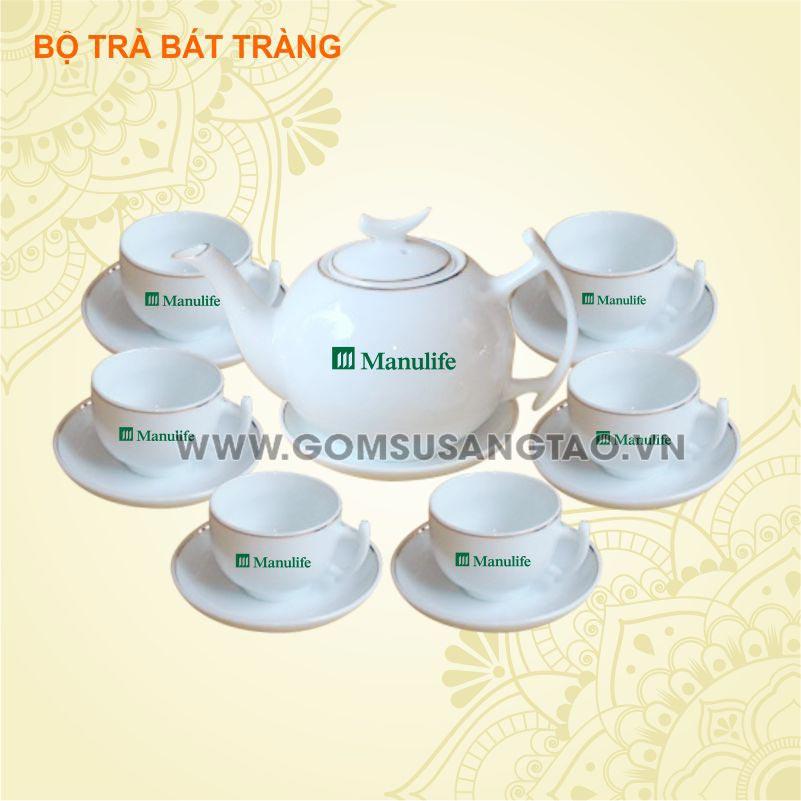 In logo ấm chén bát tràng giá rẻ tại tphcm và Hà Nội theo yêu cầu