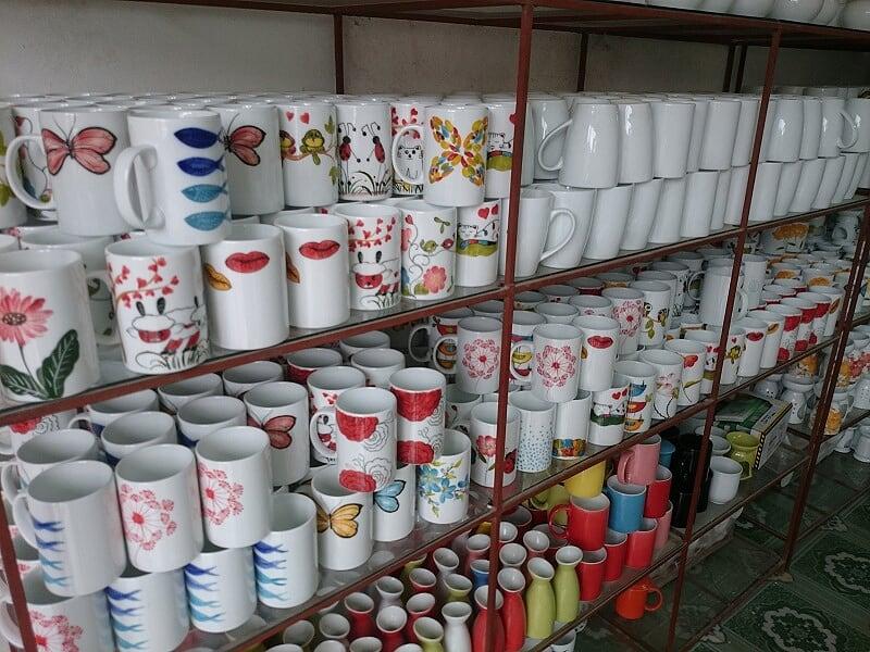 chọn mua ly sứ cốc sứ trụ ở đâu hcm