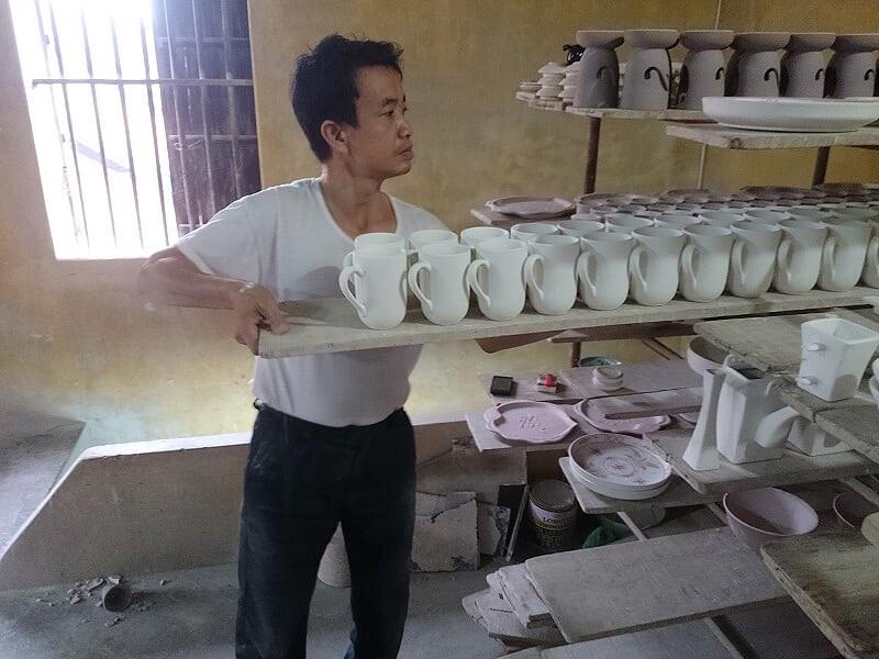sản xuất ca cốc sứ quà tặng giá tốt