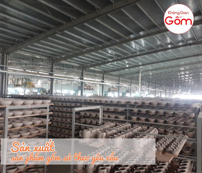 Địa chỉ sản xuất bát đĩa xuất khẩu số lượng lớn giá rẻ tại Biên Hòa